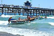 Dory Boat Races at San Clemente Pier