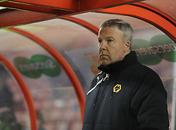 Wolverhampton Wanderer Manager, Kenny Jackett - Photo mandatory by-line: Alex James/JMP - Mobile: 07966 386802 11/03/2014 - SPORT - FOOTBALL - Swindon - County Ground - Swindon Town v Wolverhampton Wanderers - Sky Bet League One