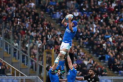 November 24, 2018 - Rome, Rome, Italy - Dean Budd during the Test Match 2018 between Italy and New Zealand at Stadio Olimpico on November 24, 2018 in Rome, Italy. (Credit Image: © Emmanuele Ciancaglini/NurPhoto via ZUMA Press)