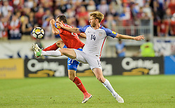 September 1, 2017 - Harrison, NJ, USA - Harrison, N.J. - Friday September 01, 2017:   Tim Ream during a 2017 FIFA World Cup Qualifying (WCQ) round match between the men's national teams of the United States (USA) and Costa Rica (CRC) at Red Bull Arena. (Credit Image: © John Todd/ISIPhotos via ZUMA Wire)