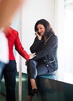 DEU, Deutschland, Germany, Berlin, 30.05.2018: Dorothee Bär (CSU), Staatsministerin für Digitales, wird von Bundesverteidigungsministerin Dr. Ursula von der Leyen (CDU) vor Beginn der 11. Kabinettsitzung im Bundeskanzleramt begrüsst.