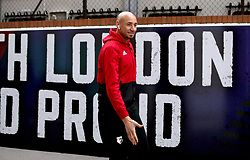 """Watford goalkeeper Heurelho Gomes arrives at the stadium prior to the Premier League match at Selhurst Park, London. PRESS ASSOCIATION Photo. Picture date: Saturday January 12, 2019. See PA story SOCCER Palace. Photo credit should read: John Walton/PA Wire. RESTRICTIONS: EDITORIAL USE ONLY No use with unauthorised audio, video, data, fixture lists, club/league logos or """"live"""" services. Online in-match use limited to 120 images, no video emulation. No use in betting, games or single club/league/player publications."""