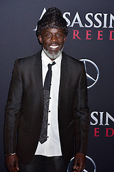 Michael K Williams attends the Assassin's Creed premiere at AMC Empire 25 theater on December 13, 2016 in New York City, NY, USA. Photo by MM/ABACAPRESS.COM