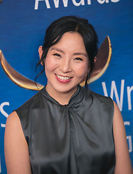 February 17, 2019 - Beverly Hills, California, U.S - Yahlin Chang in the red carpet of the 2019 Writers Guild Awards at the Beverly Hilton Hotel on Sunday February 17, 2019 in Beverly Hills, California. ARIANA RUIZ/PI (Credit Image: © Prensa Internacional via ZUMA Wire)