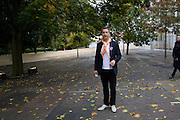 ARTIST; JEPPE HEIN, Frieze Art Fair 2008. Regent's Park. London. 15 October 2008 *** Local Caption *** -DO NOT ARCHIVE -Copyright Photograph by Dafydd Jones. 248 Clapham Rd. London SW9 0PZ. Tel 0207 820 0771. www.dafjones.com