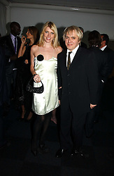 Musician NICK RHODES and model MEREDITH OSTROM  at the Fortune Forum Dinner held at Old Billingsgate, 1 Old Billingsgate Walk, 16 Lower Thames Street, London EC3R 6DX<br /><br />NON EXCLUSIVE - WORLD RIGHTS