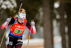 March 16, 2019 - –Stersund, Sweden - 190316 Ingrid Landmark Tandrevold of Norway competes in the Women's 4x6 km Relay during the IBU World Championships Biathlon on March 16, 2019 in Östersund..Photo: Johan Axelsson / BILDBYRÃ…N / Cop 245 (Credit Image: © Johan Axelsson/Bildbyran via ZUMA Press)