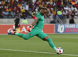 Brilliant Khuzwayo of Kaizer Chiefs during the 2016 Premier Soccer League match between Chippa United and Kaizer Chiefs held at the Nelson Mandela Bay Stadium in Port Elizabeth, South Africa on the 3rd December 2016.<br /> <br /> Photo by:   Richard Huggard / Real Time Images