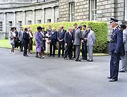02/07/1990<br /> 07/02/1990<br /> 02 July 1990<br /> Nelson Mandela visits Ireland. Mandela at Leinster House.