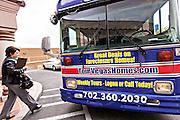 Foreclosure real estate bus tour in Las Vegas, NV.