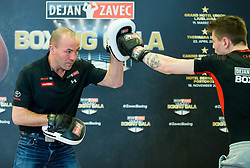 Dejan Zavec and Jan Sekol during press conference of Boxing Gala events organised by Dejan Zavec, on February 21, 2017 in Hotel Union, Ljubljana, Slovenia. Photo by Vid Ponikvar / Sportida