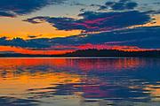 Sunset at Pakwash Lake<br />Pakwash Lake Provincial Park<br />Ontario<br />Canada