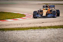 February 19, 2019 - Montmelo, Barcelona, Catalonia, Spain - Barcelona-Catalunya Circuit, Montmelo, Catalonia, Spain - 19/02/2018: Lando Norris of McLaren during second journey of F1 Test Days in Montmelo circuit. (Credit Image: © Javier MartíNez De La Puente/SOPA Images via ZUMA Wire)