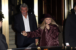 Barbara Streissand and her husband seen attending Jennifer Aniston's 50th B-day party. 09 Feb 2019 Pictured: Barbara Streissand. Photo credit: Rachpoot/P&P/MEGA TheMegaAgency.com +1 888 505 6342