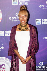 Emile Sande.<br /> Red carpet at the MTV EMA, Glasgow.