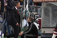Espulsione di Sinisa Mihajlovic, allenatore del Milan.<br /> Roma 9-01-2016 Stadio Olimpico, Football Calcio 2015/2016 Serie A. AS Roma - Milan. Foto Antonietta Baldassarre / Insidefoto