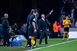 February 11, 2019 - Wolverhampton, England, United Kingdom - A very animated Rafa Benitez Manager of Newcastle United during the Premier League match between Wolverhampton Wanderers and Newcastle United at Molineux, Wolverhampton on Monday 11th February 2019. (Credit Image: © Mi News/NurPhoto via ZUMA Press)