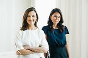 BIRMINGHAM, AL – SEPTEMBER 4, 2019: Portrait of Elizabeth Stewart and Melissa Baker.