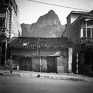 Architecture of an old house in Dong Van, Ha Giang Province, Vietnam, Southeast Asia