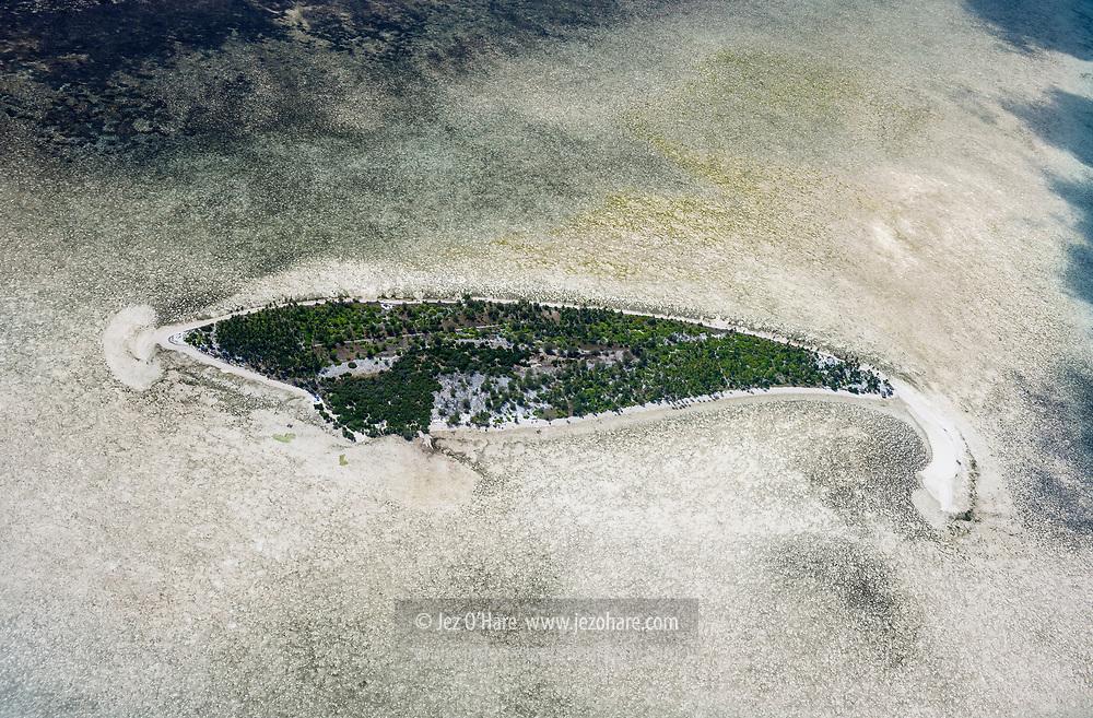 Sawa (or Sawah/Sava) Island on Tomia/Lentea Island reef, Wakatobi National Park, Tukang Besi Islands, South East Sulawesi, Indonesia