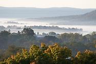 Morning fog on Oct. 5, 2020.