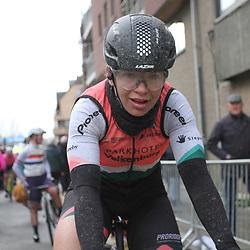 29-02-2020: Wielrennen: Omloop Nieuwsblad: Ninove: Esther van Veen