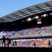 HARRISON, NEW JERSEY- OCTOBER 16:  A view of Red Bull Arena during the New York Red Bulls Vs Columbus Crew SC MLS regular season match at Red Bull Arena, on October 16, 2016 in Harrison, New Jersey. (Photo by Tim Clayton/Corbis via Getty Images)