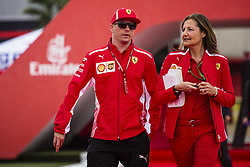 May 10, 2018 - Barcelona, Catalonia, Spain - 07 Kimi Raikkonen from Finland Scuderia Ferrari SF71H during the Spanish Formula One Grand Prix at Circuit de Catalunya on May 10, 2018 in Montmelo, Spain. (Credit Image: © Xavier Bonilla/NurPhoto via ZUMA Press)