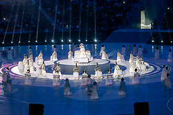 March 9, 2018 - Pyeongchang, U.S. - 09-03-2018 Pyeongchang, Korea ..Sport..Opening Ceremony of Pyeongchang 2018 Paralympic Games...In the photo:Highlights of opening ceremony (Photo by Mauro Ujetto/LaPresse/Icon Sportswire) ****NO AGENTS---NORTH AND SOUTH AMERICA SALES ONLY****NO AGENTS---NORTH AND SOUTH AMERICA SALES ONLY* (Credit Image: © Mauro Ujetto/Icon SMI via ZUMA Press)