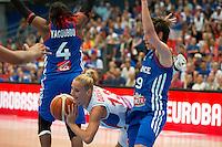 Milica Dabovic - 28.06.2015 - France / Serbie - Finale Championnat d'Europe feminin de Basket ball -Budapest<br /> Photo : Attila Volgyi / Icon Sport