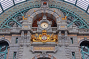 Belgium, Antwerp Railway station interior