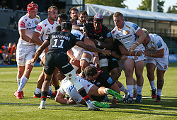 Exeter Chiefs on the attack - Mandatory by-line: Arron Gent/JMP - 13/09/2020 - RUGBY - Allianz Park - London, England - Saracens v Exeter Chiefs - Gallagher Premiership Rugby