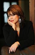 Advice columnist Carla Sanchez photographed at the Tribune Tower.