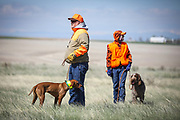 SHOT 5/9/20 10:18:44 AM - Various pointing breeds compete in the Vizsla Club of Colorado Licensed Hunt Test Premium at the Rocky Mountain Sporting Dog Club Grounds in Keenesburg, Co. (Photo by Marc Piscotty / © 2020)