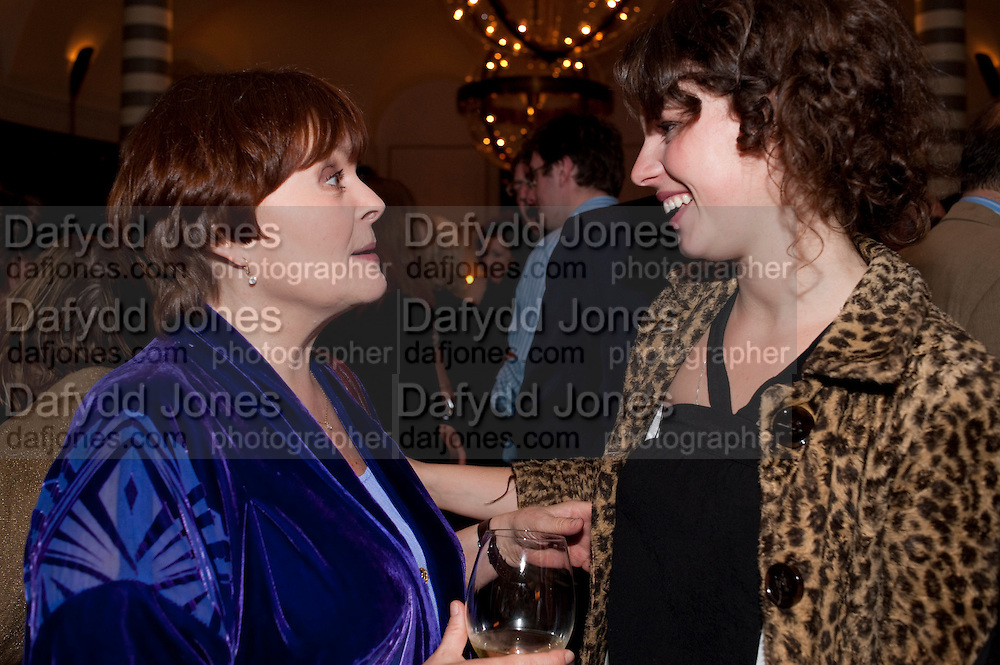 ISLA BLAIR; JESSIE BUCKLEY, Massimo's restaurant at the Corinthia Hotel, Whitehall  host the after party  for 'Claire Rayner's benefit show' 5 June 2011. <br /> <br />  , -DO NOT ARCHIVE-© Copyright Photograph by Dafydd Jones. 248 Clapham Rd. London SW9 0PZ. Tel 0207 820 0771. www.dafjones.com.