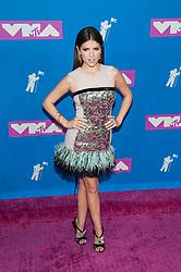 August 21, 2018 - New York City, New York, USA - 8/20/18.Anna Kendrick at the 2018 MTV Video Music Awards at Radio City Music Hall in New York City. (Credit Image: © Starmax/Newscom via ZUMA Press)