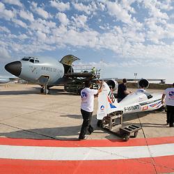 2011/08 Convoyage du Big Frog à Reno à bord d'un C135 FR de l'armée de l'air