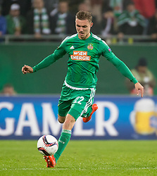 20.10.2016, Weststadion, Wien, AUT, UEFA EL, SK Rapid Wien vs US Sassuolo Calcio, Gruppe F, im Bild Mario Pavelic (SK Rapid Wien) // during a UEFA Europa League, group F game between SK Rapid Wien and US Sassuolo Calcio at the Weststadion, Vienna, Austria on 2016/10/20. EXPA Pictures © 2016, PhotoCredit: EXPA/ Sebastian Pucher