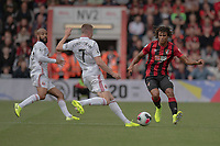 Bournemouth's Nathan Ake (right) battles with Sheffield United's John Lundstram (left) <br /> <br /> Photographer David Horton/CameraSport<br /> <br /> The Premier League - Bournemouth v Sheffield United - Saturday 10th August 2019 - Vitality Stadium - Bournemouth<br /> <br /> World Copyright © 2019 CameraSport. All rights reserved. 43 Linden Ave. Countesthorpe. Leicester. England. LE8 5PG - Tel: +44 (0) 116 277 4147 - admin@camerasport.com - www.camerasport.com