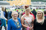 Best Dressed at the Connemara pony Show was Josephine Wallace from Clifden at the 93rd annual Connemara Pony show in Clifden Co. Galway with her mother Mary Whelan and Daughter jane Chambers. Photo:Andrew Downes, XPOSURE