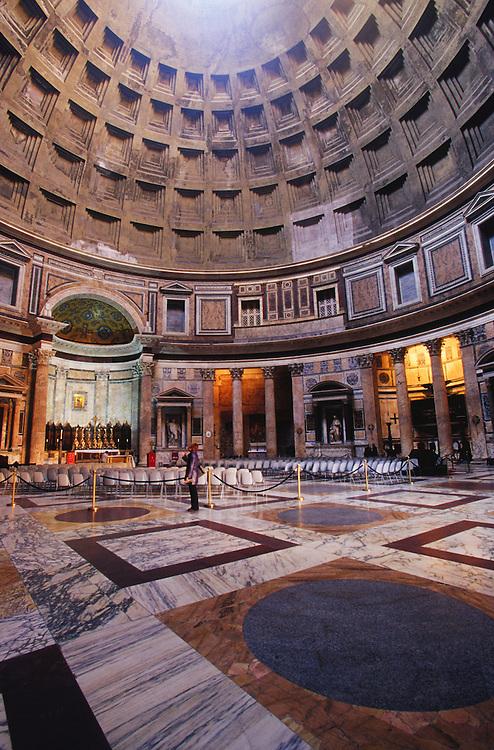 Europe, Italy, Rome, Pantheon interior