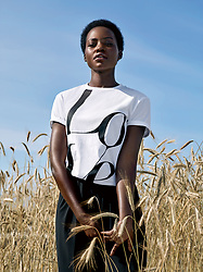 "Actress Lupita Nyong'o has teamed up with Michael Kors in a bid to stop hunger. The Oscar-winning star models the fashion company's special edition products to raise money for Watch Hunger Stop, the brand's annual global philanthropic campaign against hunger. This year, the products are a T-shirt and a tote bag featuring the word LOVE. Lupita, 36, said: ""I am proud to support Watch Hunger Stop because it focuses attention on solutions to the problem of hunger and encourages people to take action on an individual basis."" She added: ""Watch Hunger Stop helps to fund meals for schools, which has a direct impact on leveling the performance playing field for underprivileged students. ""When students can eat, they can perform better in school which in turn leads to greater opportunities in life. In so doing, Michael Kors and WFP are facilitating better opportunities for women and girls on a daily basis."" ""Lupita is smart, talented, compassionate and strong, with an extraordinary ability to inspire others,"" said Michael Kors. ""I'm thrilled that she has joined us in the fight against hunger. Her empathy, honesty and commitment will make her a powerful force for change in the effort to build a world with zero hunger."" The LOVE T-shirt and tote will be available for purchase online and in select Michael Kors lifestyle stores around the world beginning October 1. The unisex t-shirt, offered in black and white, will retail for $40 USD. The black canvas tote, with leather handles, will sell for $59 USD. For every LOVE t-shirt or tote sold, Michael Kors will donate all profits to children in need through the World Food Programme. Watch Hunger Stop supports the United Nations World Food Programme (WFP) and its school meals program. The Watch Hunger Stop campaign has helped WFP deliver more than 18 million meals to children since its inception, according to Michael Kors. 01 Oct 2019 Pictured: Lupita Nyong'o has teamed up with Michael Kors. Photo credit: Courtesy of Michael"