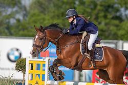 Hoeben Valentina, BEL, Diamontrose<br /> Belgisch Kampioenschap Children<br /> Azelhof - Koningshooikt 2018<br /> © Hippo Foto - Dirk Caremans<br /> 13/05/2018