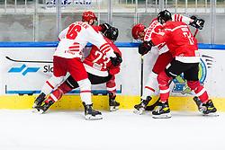 during match at Beat Covid 19 IIH Tournament 2021 between national teams of Poland and Austria in Hala Tivoli on 17th of May, 2021, Ljubljana, Slovenia . Photo By Grega Valancic / Sportida