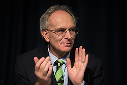 © Licensed to London News Pictures . 05/02/2016 . Manchester , UK . PETER BONE MP . Grassroots Out , anti-EU membership campaign event , at the Manchester Central Convention Centre . Photo credit : Joel Goodman/LNP