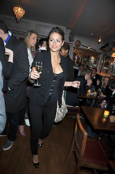SASKIA BOXFORD at a party to celebrate the opening of Barts, Sloane Ave, London on 26th February 2009.