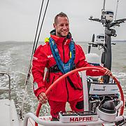 Cardiff stopover. ProAm race 2 on board MAPFRE. 07 June, 2018.