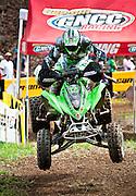 GNCC ATV racer at Hurricane Mills.