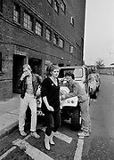 KIrsty MacColl and some of the Boom Town Rats