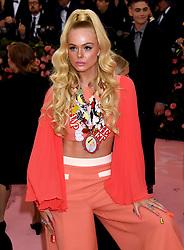 Elle Fanning attending the Metropolitan Museum of Art Costume Institute Benefit Gala 2019 in New York, USA.